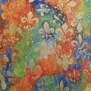 Fleur De Arcencial Art Print by Made by Marley