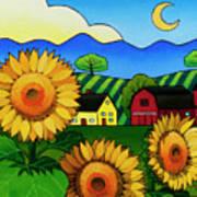 Fleur Du Soleil Art Print