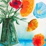 Fleur Primitiv Art Print