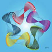 Fleuron Composition No. 178 Art Print