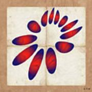 Fleuron Composition No 235 Art Print