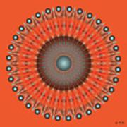 Fleuron Composition No 236 Art Print