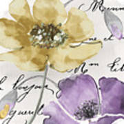 Fleurs De France II Art Print
