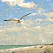 Flight From Canaveral Art Print