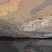 Flight Of The Gull Art Print