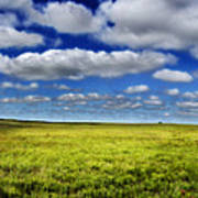 Flint Hills Panorama 1 Art Print