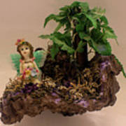 Floating Island Fairy Art Print