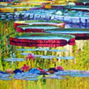 Floating Parallel Universes Art Print