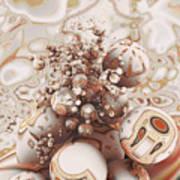 Floating Spheres Art Print