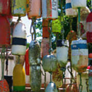 Floats And Buoys II Art Print