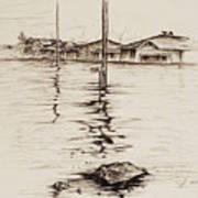 Flood St. Art Print
