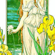 Flora 1905 Art Print
