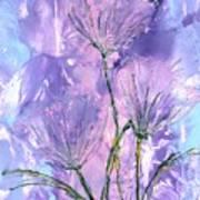 Flora Haze Art Print