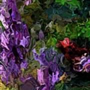 Flora Landscape 081015 Art Print