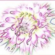 Floradoodle Art Print