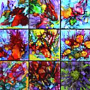 Floral Air Art Print
