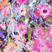 Floral Art Clviii Art Print