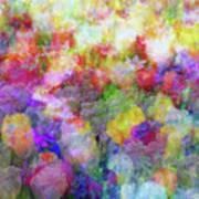 Floral Art Cxi Art Print