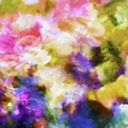 Floral Art Cxii Art Print