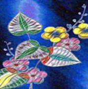 Floral Art Illustrated Art Print