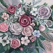 Floral Boom Art Print