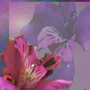 Floral Dust Art Print