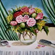 Floral Essence Art Print