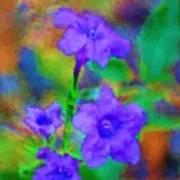 Floral Expression Art Print