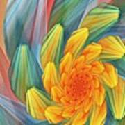 Floral Expressions 1 Art Print