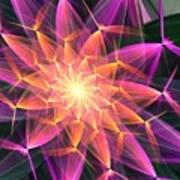 Floral Expressions 3 Art Print