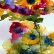Floral Fancy Art Print