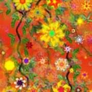 Floral Fantasy 122110 Art Print