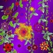Floral Fantasy 122410 Art Print