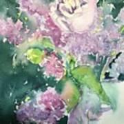 Floral Friday Jan 6 2016 Art Print