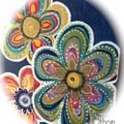 Floral Fun Art Print