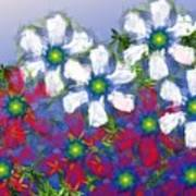 Floral Madness 2 Art Print