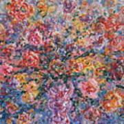 Floral Melody Art Print