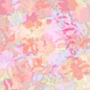 Floral Menagerie Art Print
