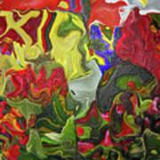 Floral Reef Art Print