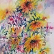 Floral Symphony Art Print
