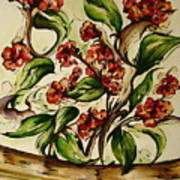 Floral Wisp Art Print