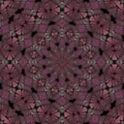 Florametric Mandala-12 Art Print