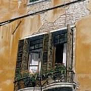Florence Balcony Art Print