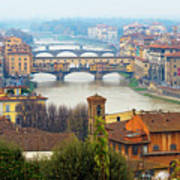 Florence Italy Art Print by Photography By Spintheday