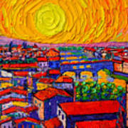 Florence Sunset 12 Art Print