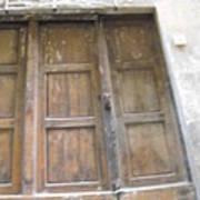 Florentine Door 4 Art Print