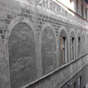 Florentine Stone Graffiti 2 Art Print
