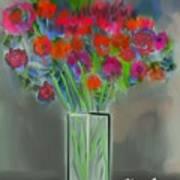 Flores 1 Art Print
