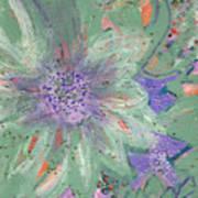 Flores De Amor Art Print