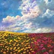 Flores De Mexico Art Print